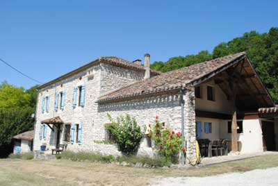 self catering quercy